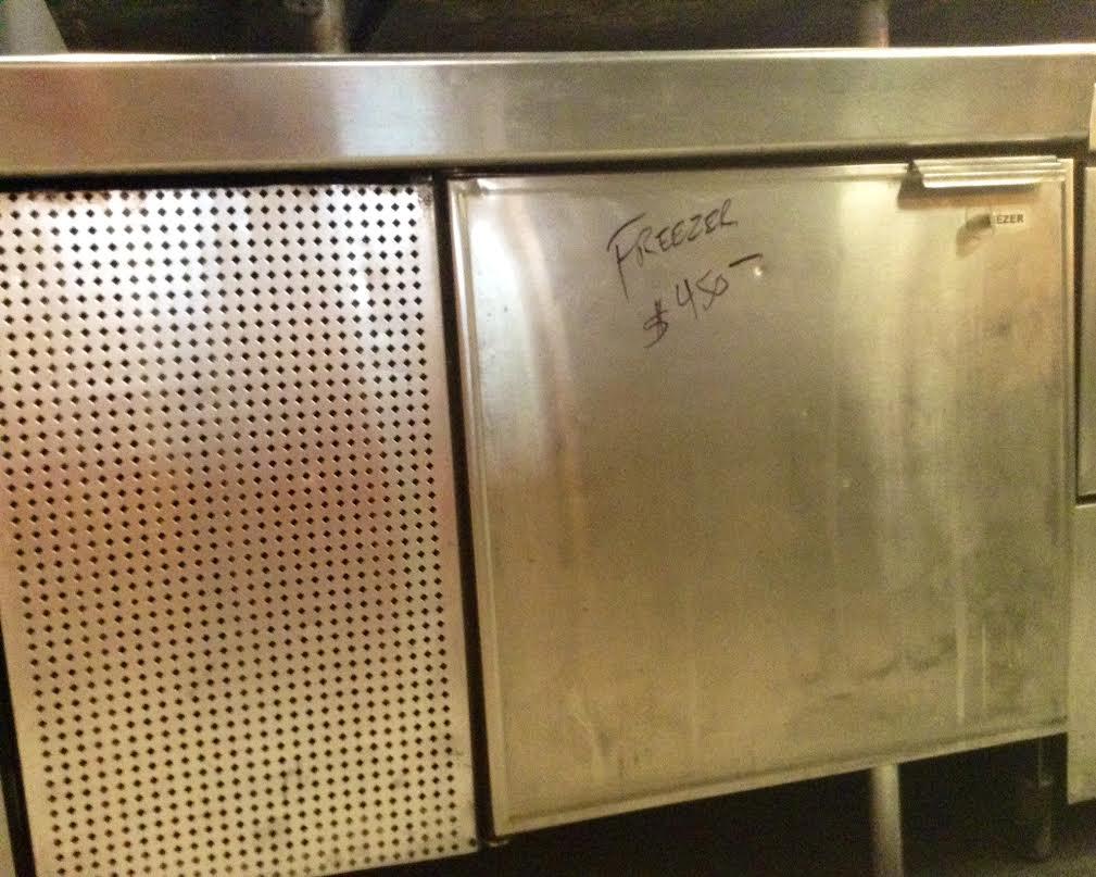 freezer two doors