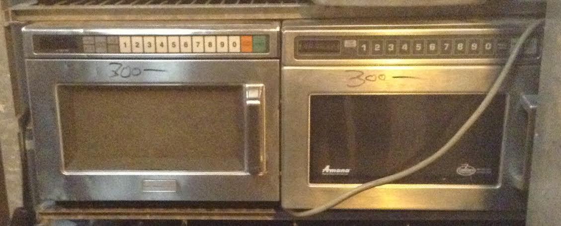 restaurant microwave oven
