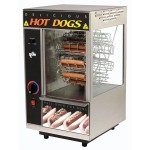 star-175cba-broil-o-dog-hot-dog-broiler-with-bun-warmer-cradle-wheel