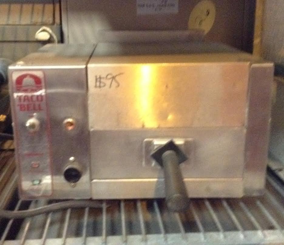 tony's taco bell branded toaster