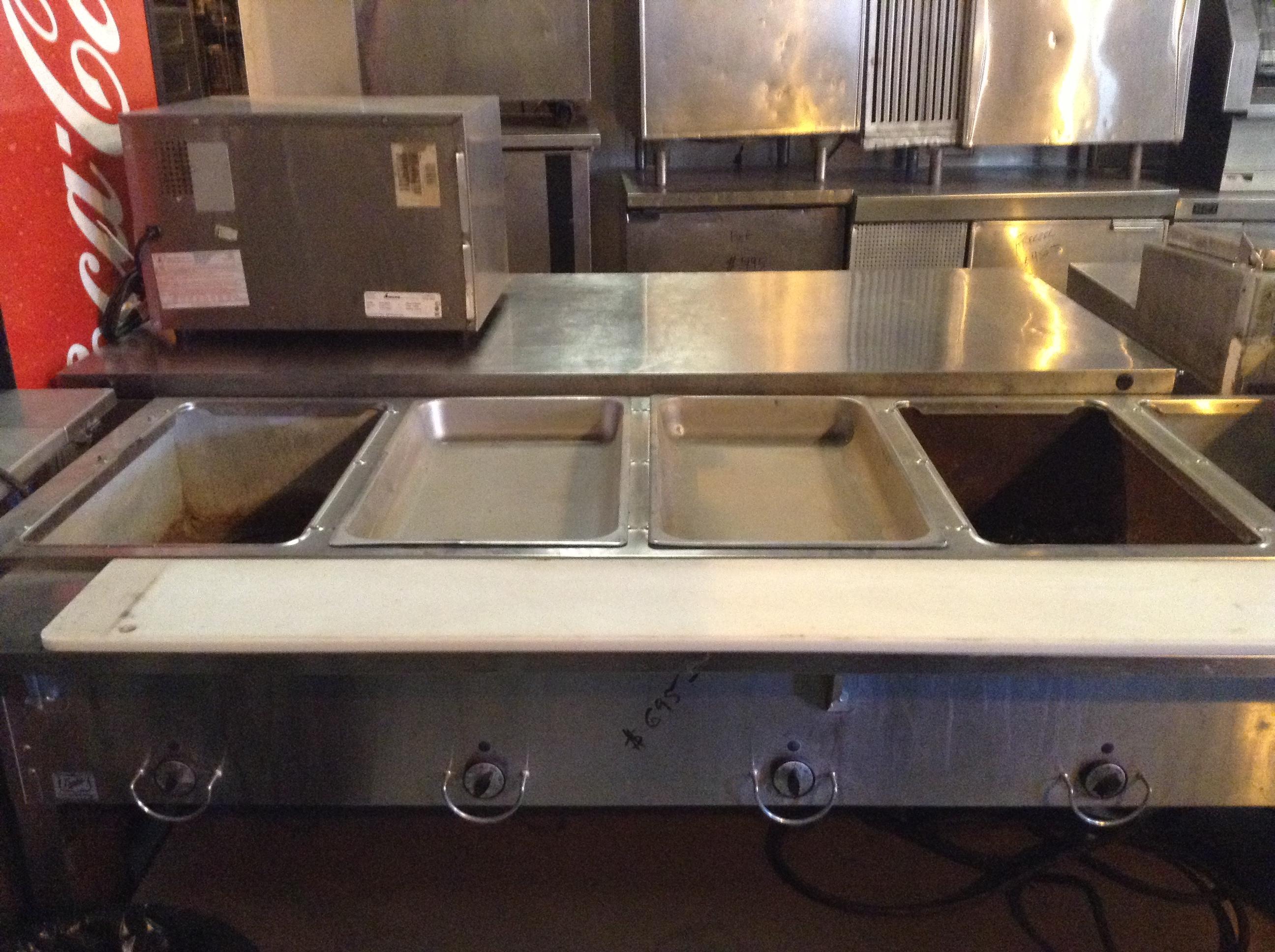 Steam Table La SemiNueva Used Restaurant Equipment - Restaurant equipment steam table