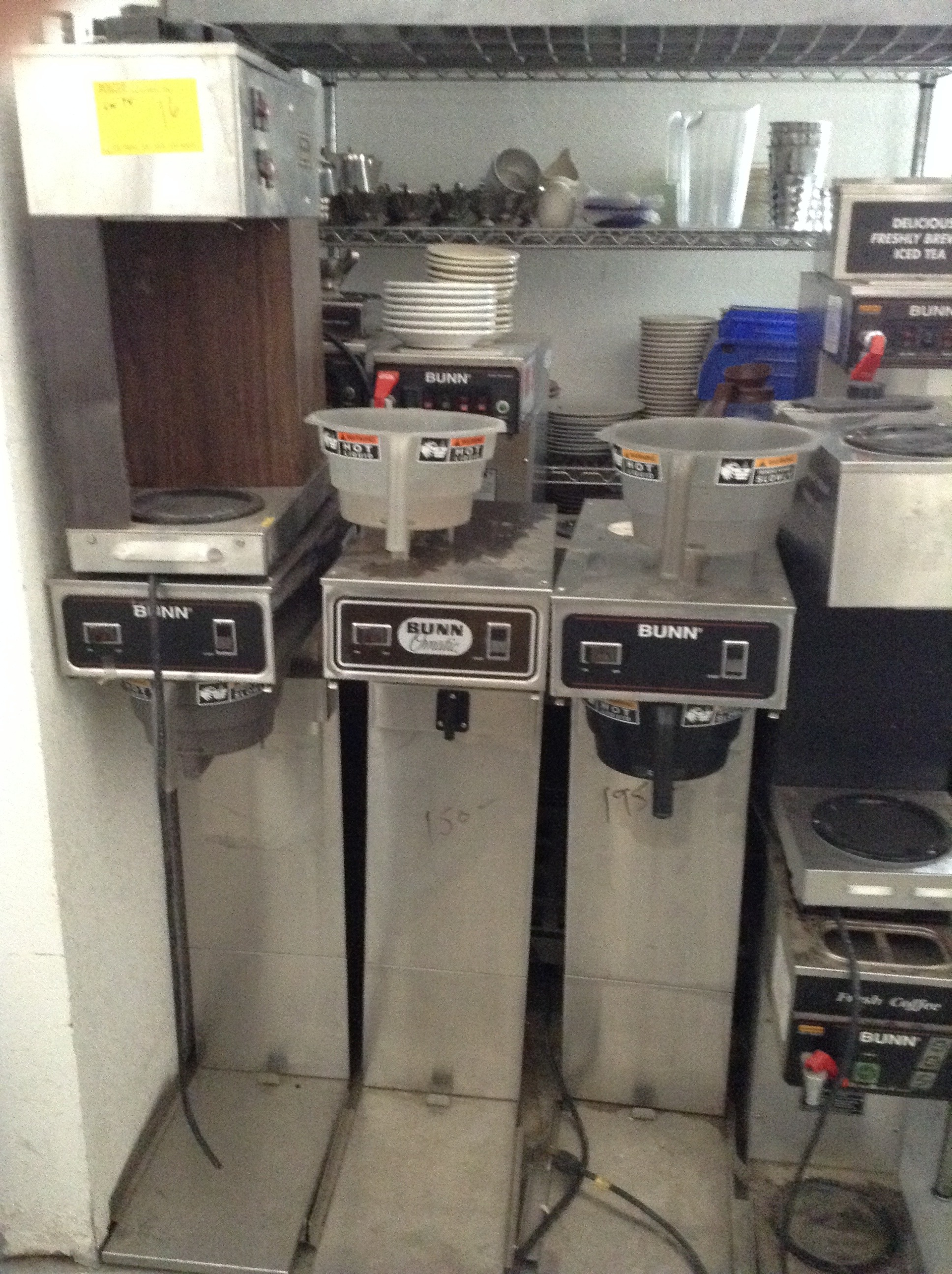 Variety of Coffee Makers