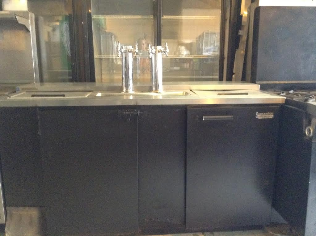 4 Keg Beer Dispenser Kegerator