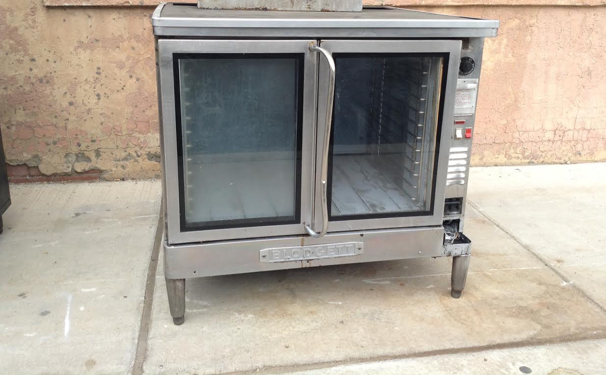 Two Door Convection Oven